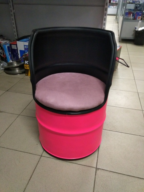 Armchair From The Barrels