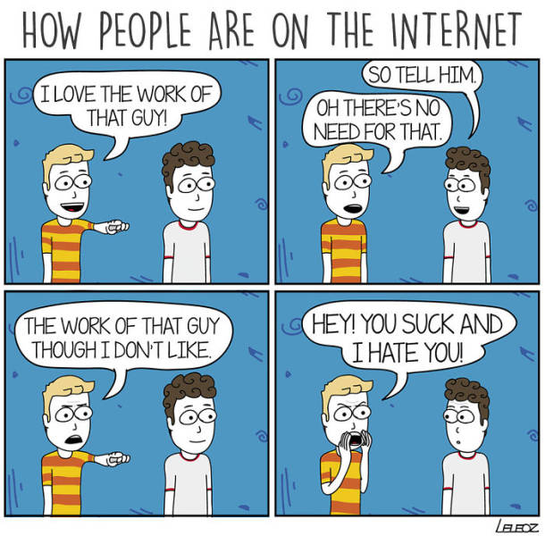 Comics About The Internet
