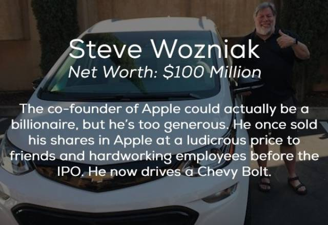 Cars Of These Billionaires Are Not That Expensive