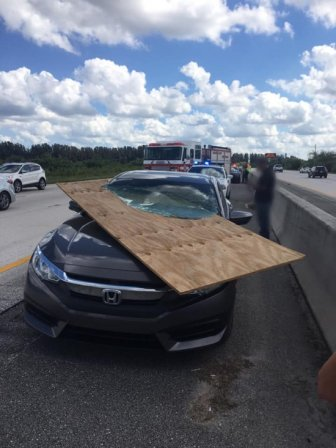 Florida Driver Is OK After This