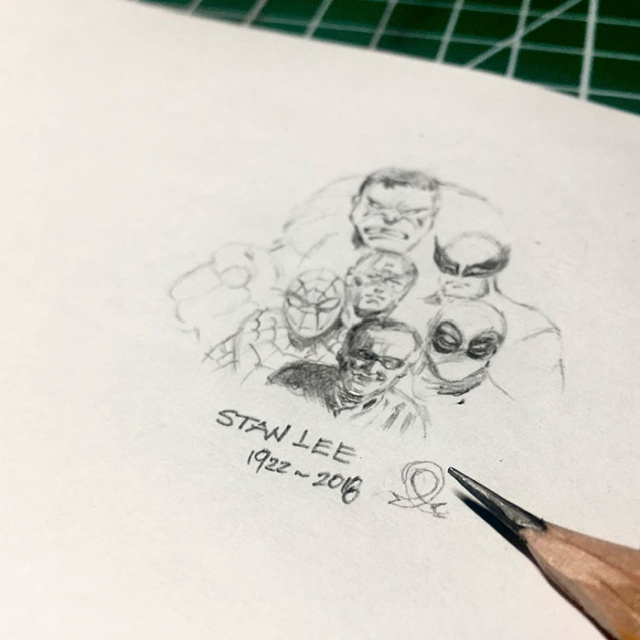 Artists Create Stunning Tributes To Late Comic Book Legend Stan Lee