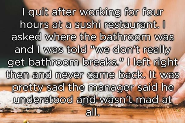 Reasons People Had Enough And Quit Their Jobs