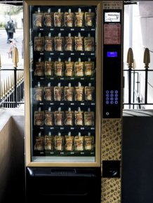 Whiskey Vending Machine In London