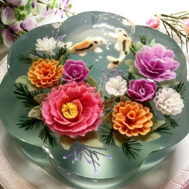 Jelly Alchemy Cake