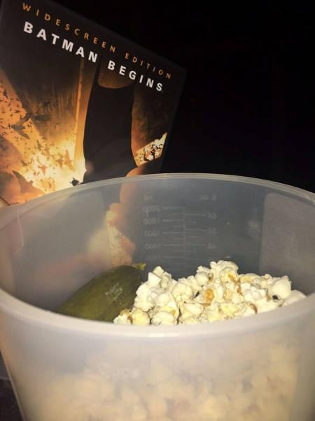 Weird Movie Theater Food Habits