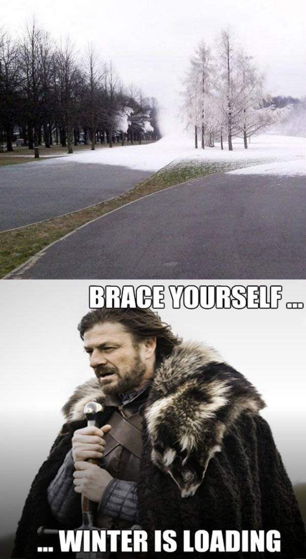 Winter Is Coming, part 3