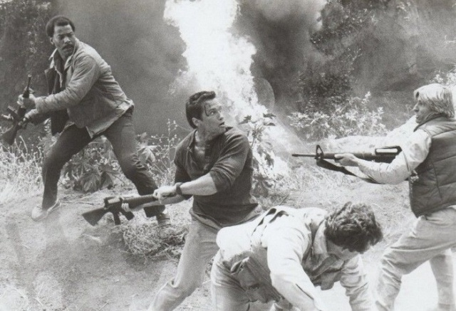 Behind The Scenes Of The Commando Movie