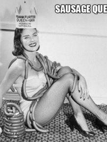 Beauty Pageant Queens of Food Industry From the Mid-20th Century