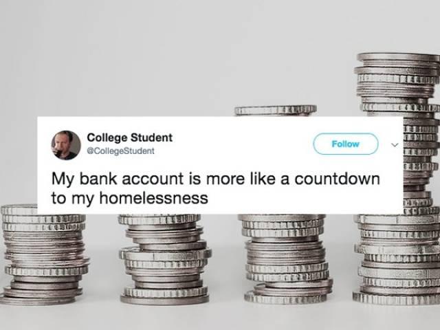 Tweets About Being Broke