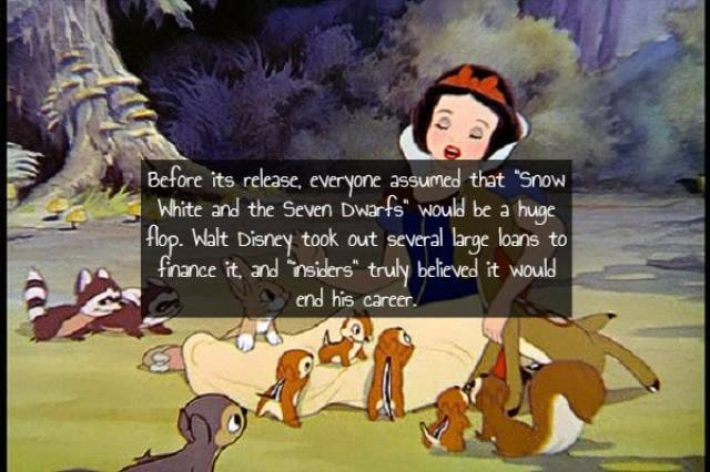 Facts About Classic Disney Films