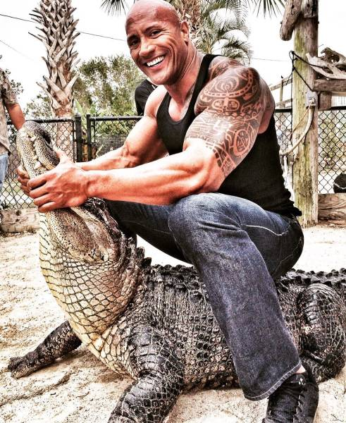 Photos From Dwayne Johnson's Instagram