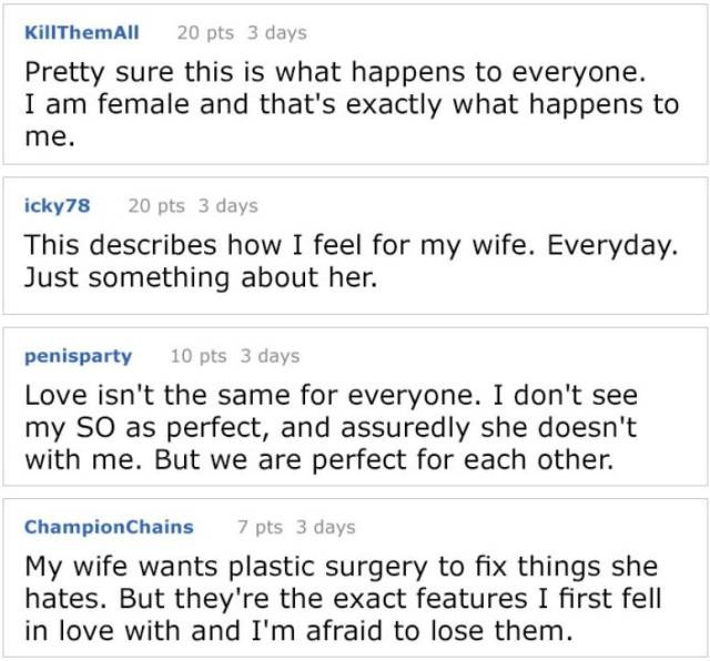 Man Explains Why Being Perfectly Pretty Is Not Really Necessary For Women