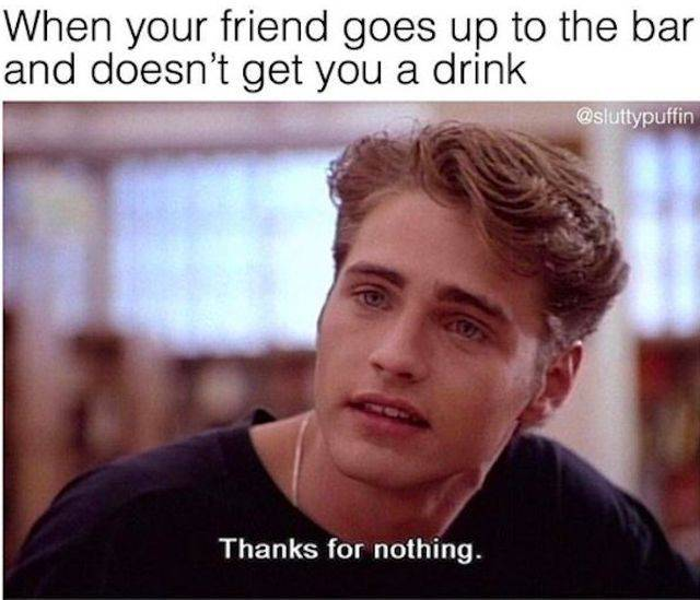Memes About Being Wasted