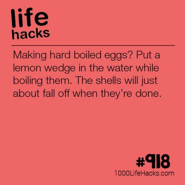 Life Hacks, part 5