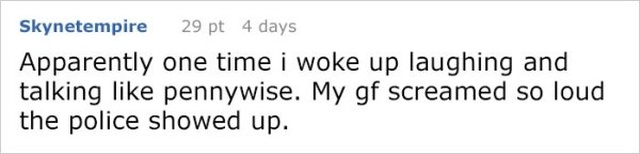 Girl Is So Creeped Out By What Her Boyfriend Says During His Sleep, She Shares Their Conversation Online