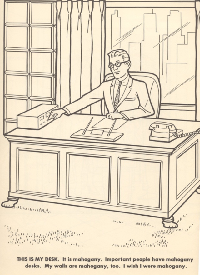 The Executive Coloring Book Others