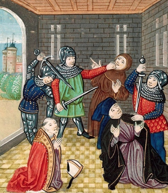 People Getting Stabbed In Medieval Art Who Just Don't Give a Damn