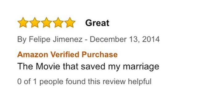 Bad Amazon Movie Reviews