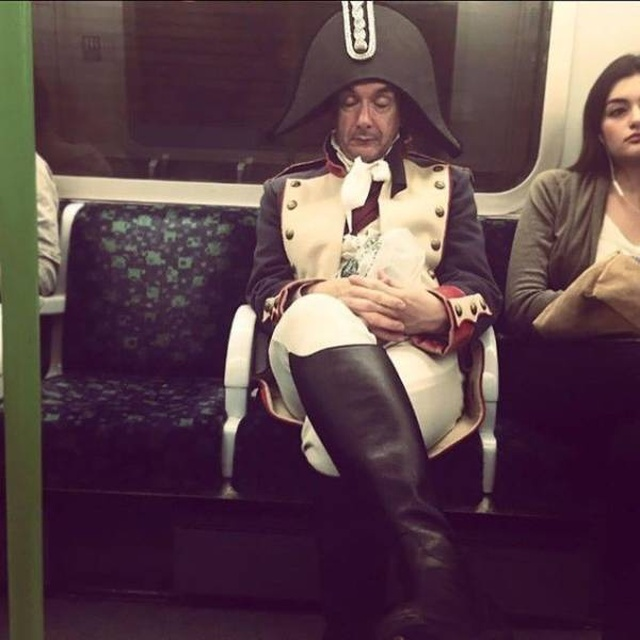 Public Transportation Can Be A Very Strange Place