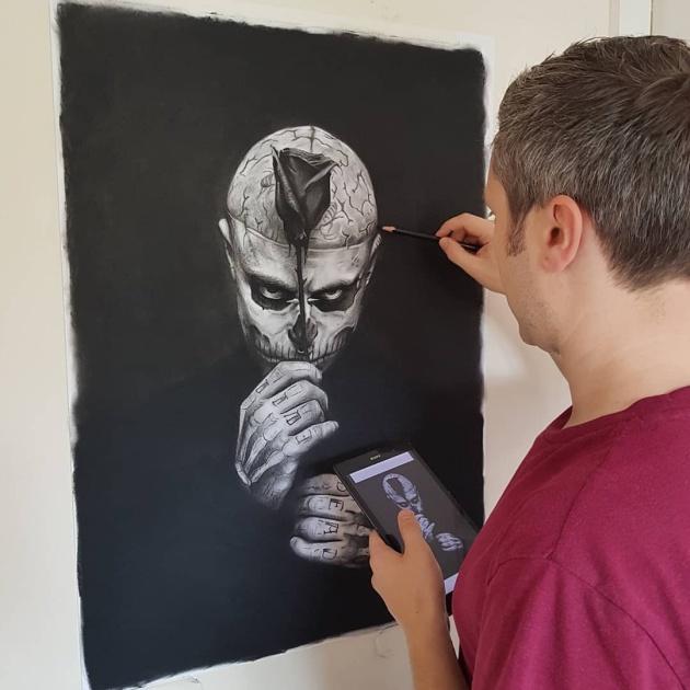Artist Jon Arton Trolls People Who Ask For A Free Portrait
