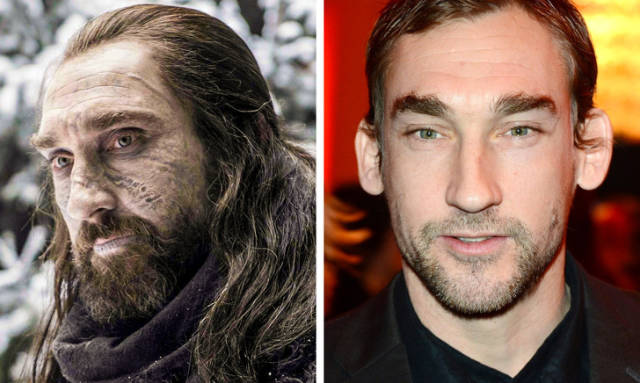 """""""Game Of Thrones"""" Characters Without Makeup"""
