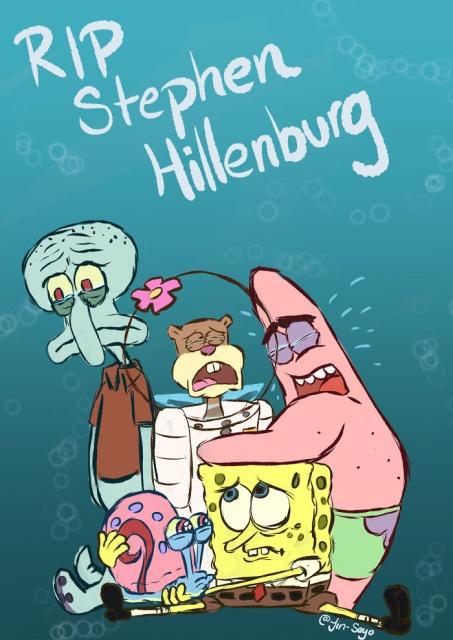 Best Fan Tributes To The Late 'SpongeBob Squarepants' Creator Stephen Hillenburg