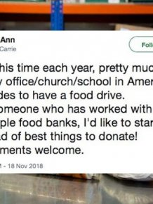 Stuff Food Banks Actually Need