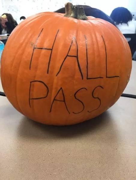 Unusual Hall Passes