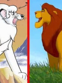 "Japanese Anime ""White Lion Kimba"""