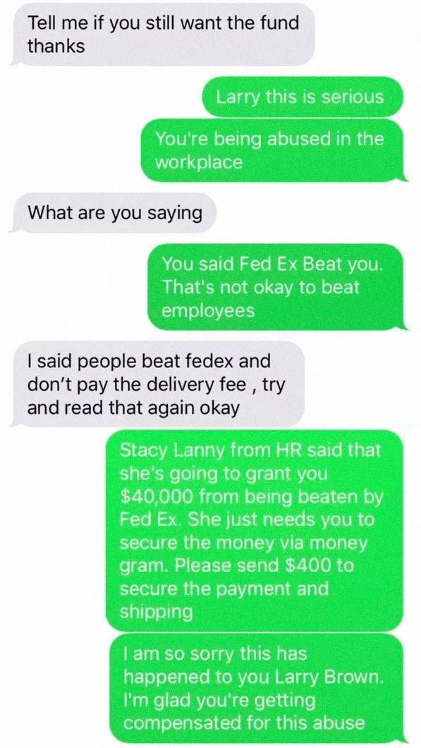 One Guy Trolls A Scammer