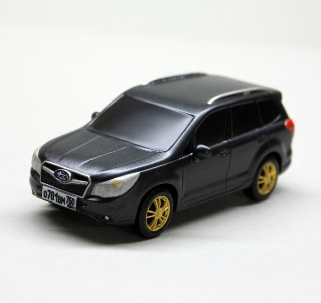 Wooden Subaru Forester