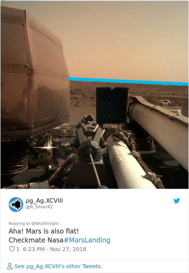 Memes About NASA's InSight's First Photos From Mars