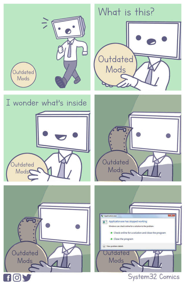 Comics About PC