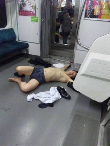 Drunk People Doing Stupid Things, part 2