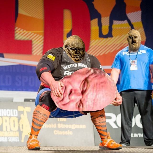 Strongman Dimitar Savatinov Lifts World's Largest Potato