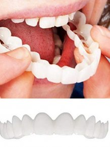 Fake Teeth That Will Improve Your Smile. But Will They?