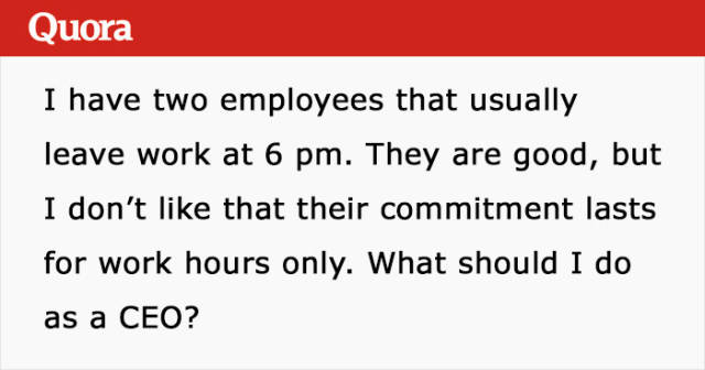 CEO Asks Internet How To Make His Employees Work Extra Hours…