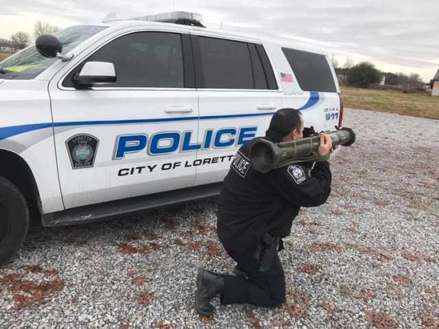 Police Department Jokes About Using a Rocket Launcher On Speeders and It Backfires
