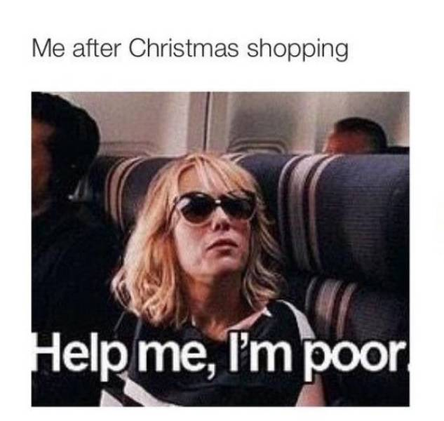 Memes About Holiday Shopping