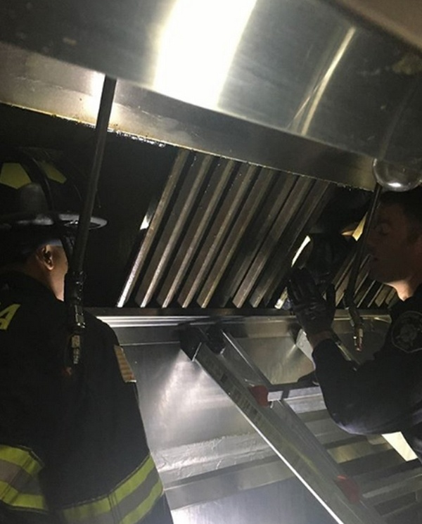 Would-be Burglar Rescued After Getting Stuck In Restaurant Grease Vent For 2 Days