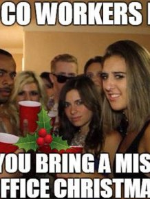 Holidays Office Party Memes