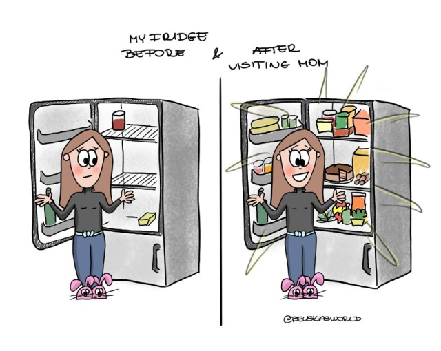 Illustrations About Girl's Life And Everyday Struggles