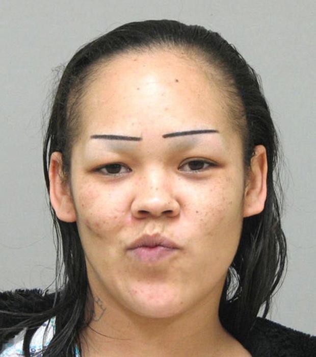 People With Strange Eyebrows