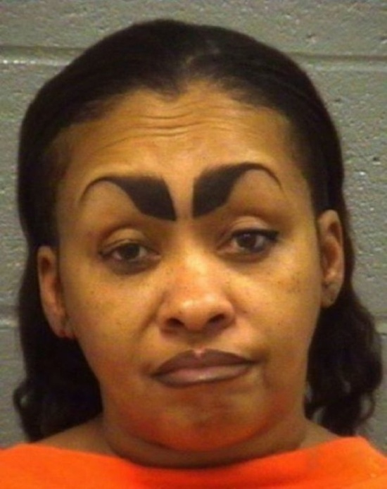 People With Strange Eyebrows