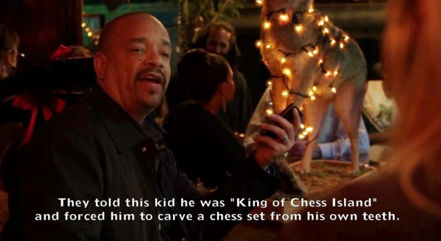 Crazy Things Ice-T May Or May Not Have Said On Law And Order