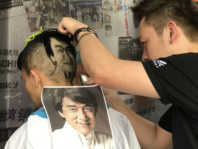 Hairdresser From China Creates Beautiful Pictures Using Clients' Hair