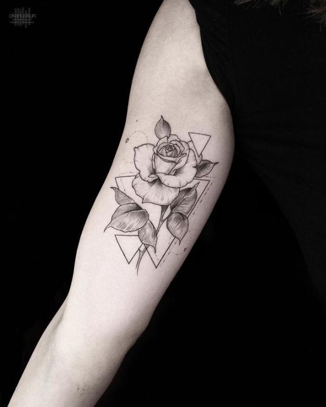 Amazing Geometric Tattoos By Turkish Artist Okan Uçkun