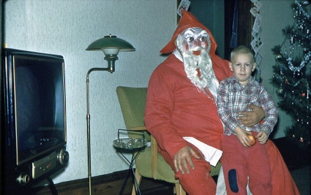 Creepy Santa Photos
