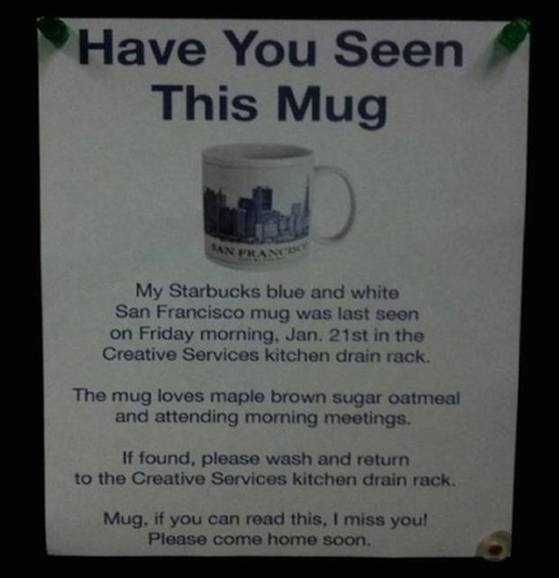 Funny Notes Written To Thieves