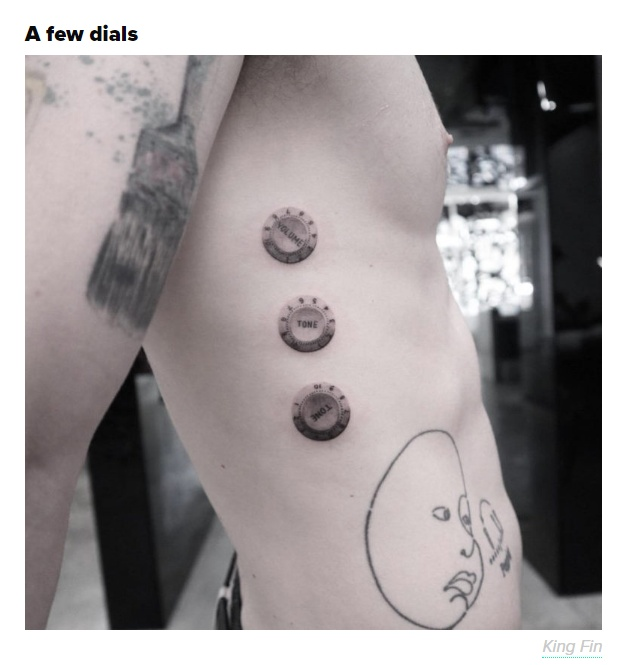 Amazing And Very Expensive Tattoos